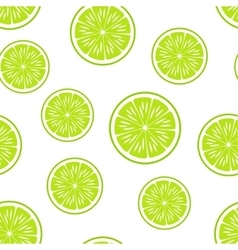 Citrus backgroundseamless patternlime vector