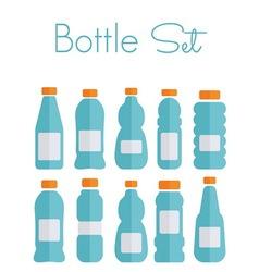 bottles light1 resize vector image vector image