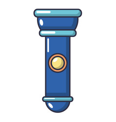 flashlight icon cartoon style vector image