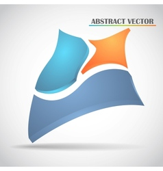 abstract squares vector image