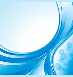Blue pattern background vector image vector image