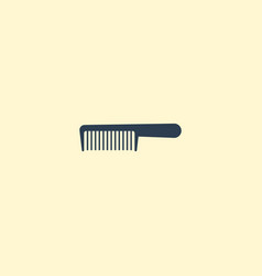 flat icon comb element of vector image