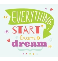 Inspirational and motivational quotes vector