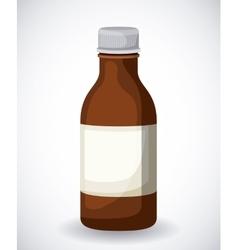 plastic bottle design vector image