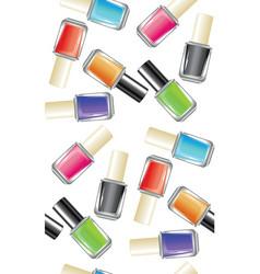 nail polish bottle vector image