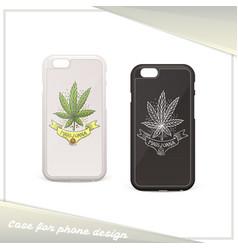 Medical marijuana case ten vector