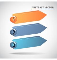 abstract arrows vector image vector image