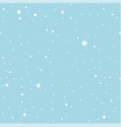 christmas clean seamless pattern with snow vector image vector image