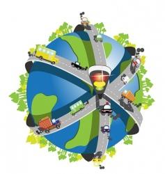 speedway vector image vector image
