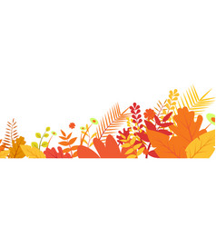autumn background eps 10 vector image