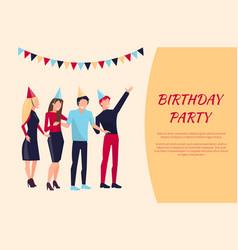 Birthday party celebration vector