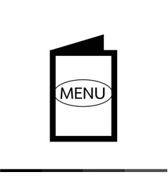 food menu icon design vector image