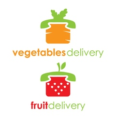 Fruit and vegetable delivery vector