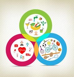 Healthy lifestyles vector