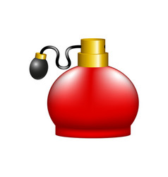 Luxurious perfume in retro design vector