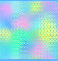 Mermaid seamless pattern background vector
