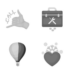 not love holiday business and other web icon in vector image