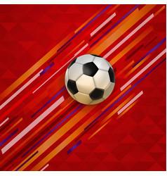 Soccer match event football ball background vector