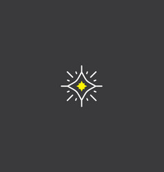 starlight logo icon vector image