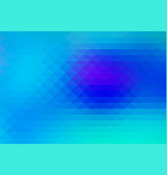 Turquoise blue purple rows of triangles background vector