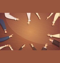 business meeting concept vector image