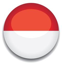 monaco flag vector image vector image