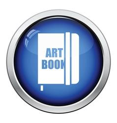 Sketch book icon vector image