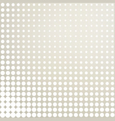 White gray dotted background half tone background vector