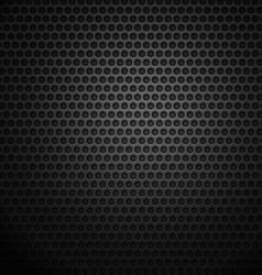 Dark metal cell background vector image vector image
