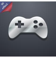 Joystick icon symbol 3D style Trendy modern design vector image