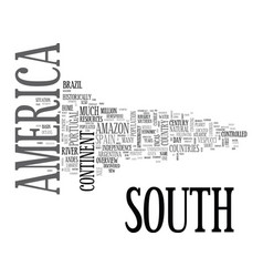 An overview of south africa for travelers text vector
