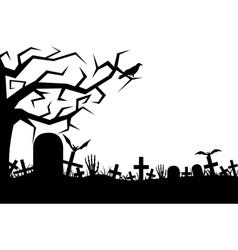 Cemetery vector
