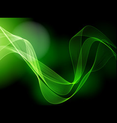 Dark green background vector