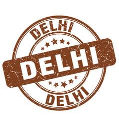 Delhi stamp vector