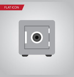 Isolated saving flat icon locked element vector