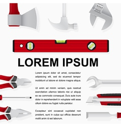 tools background 2 vector image