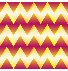 zigzag seamless pattern with light effect vector image
