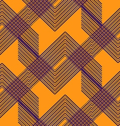 Geo pattern9 vector image vector image