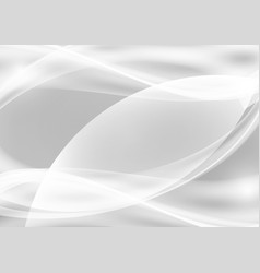 gray and white abstract background with copy vector image vector image