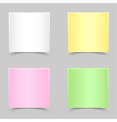 paper for messages vector image vector image