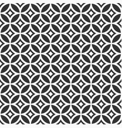 Abstract seamless geometric pattern in chinese vector