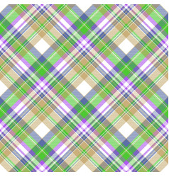 Color plaid fabric texture seamless pattern vector