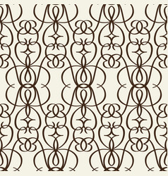 decorative lattice in victorian style vector image