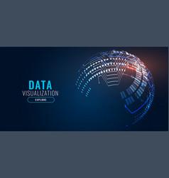 Digital technology background banner design vector