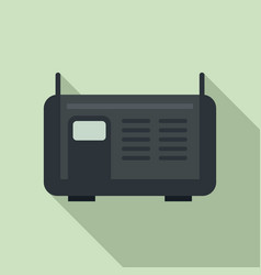 Electric welding icon flat style vector