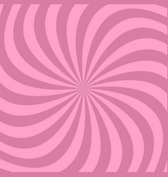 geometrical spiral background from swirling rays vector image