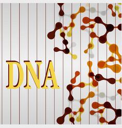 Molecular structure medical background vector