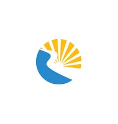River logo vector