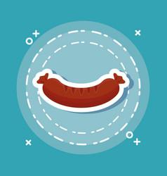 Sausage icon image vector