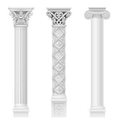Set classical columns vector